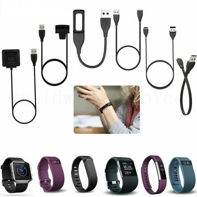 USB Charger Cable For FitBit Flex/Force/One/Charge/Alta/HR/Blaze/Surge