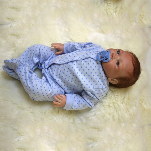 "20"" Full Body Realistic Reborn Dolls Lifelike Baby Boy Newborn Doll Gifts 2"