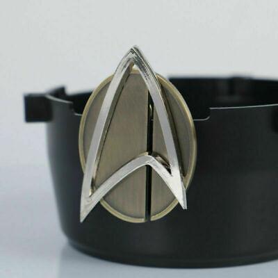 Star Trek Picard Combadge Rank Pips Set Command Science Engineering Pin Brooch 7