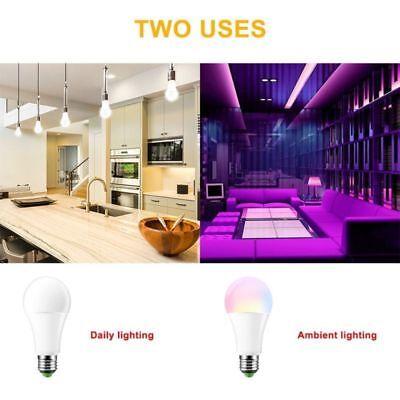 RGB RGBW LED bulb Light Color Change 15W E27 Lamp Bulbs + Remote Controller 5