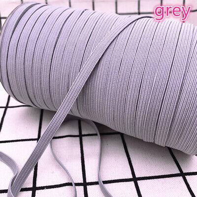 5yds 6mm Hight Elastic Bands Spool Sewing Band Flat Elastic Cord diy Sewmaterial 9