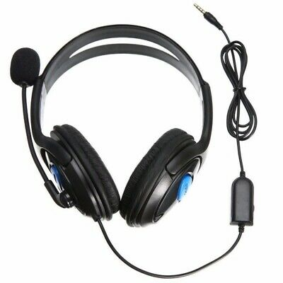 Wired Stereo Bass Surround Gaming Headset for PS4 New Xbox One PC with Mic 5