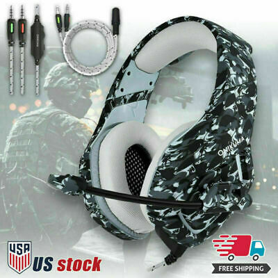 ONIKUMA K1 Stereo Bass Surround Gaming Headset for PS4 New Xbox One PC with Mic 11