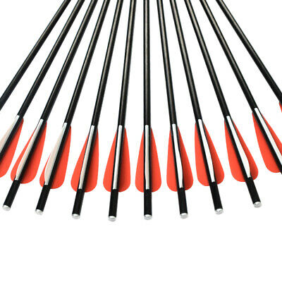 1 Cocking Rope Outdoor Hunting Targets 12 Crossbow Bolts Fiberglass Arrows 14/""