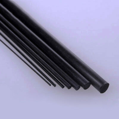 Carbon Fiber Tube & Rods Round For RC Airplane 1.8mm 2mm 3mm 6mm You Pick Sizes 5
