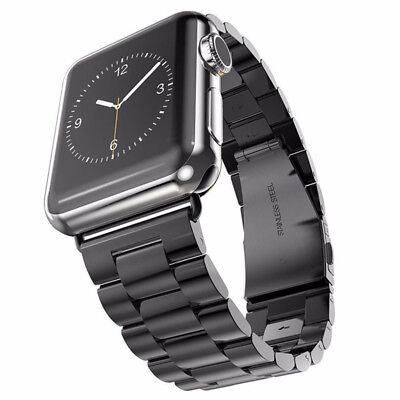 Stainless Steel iWatch Band Strap Wrist With Case For Apple Watch Series 1/2/3/4 7