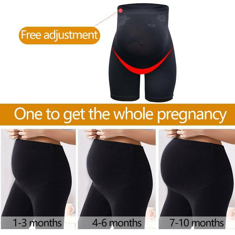 Women Maternity Shapewear Abdomen Support Panty Pregnancy Body Shaper Underwear 5