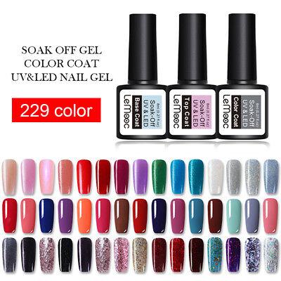 8ml LEMOOC Nagel Gellack Nail Gel UV Nagellack Soak off Nail Art UV Gel Polish 8
