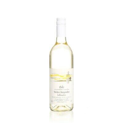 Pfälzer Weißburgunder halbtrocken 12 x 0,75 L Flasche direkt vom Winzer 2