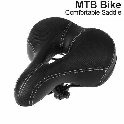 Road MTB Mountain Bike Bicycle Saddle Spring Seat Soft Padded Cushion Cover VIC 3