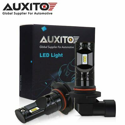 2x AUXITO H10 9140 9145 CSP LED Fog Light DRL Replace Halogen Lamp Globes 6000K 2