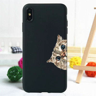 For iPhone 11 Pro XR XS Max SE 6S 7 8 Plus Case Silicone Painted Slim TPU Cover 11