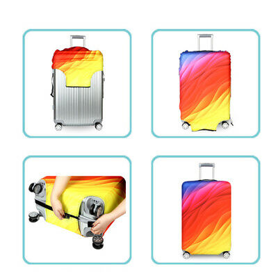 """Elastic Travel Luggage Cover Suitcase Protector Anti-scratch Protective 18""""- 32"""" 2"""