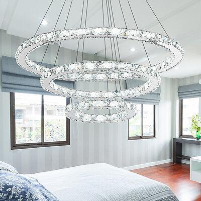 Deckenlampe Pendellampe Design Kristall Led Hangeleuchte Esszimmer Kronleuchter
