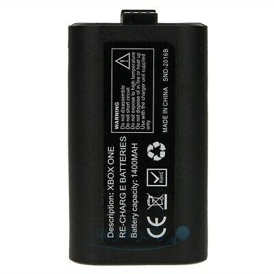 2Pcs Original Rechargeable Battery Pack For Xbox One Wireless Controller 1400mAh 12