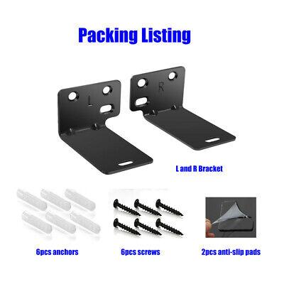 Wall Mount Bracket Kit For VIZIO SB3821-C6 38-Inch 2.1 Channel Sound Bar 3