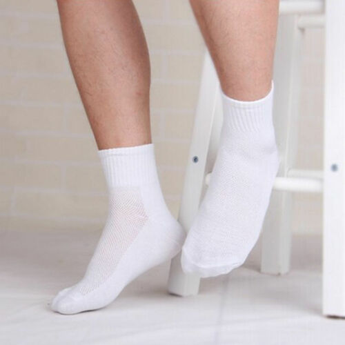 Mens Womens Cotton Rich Sport Socks Work Ankle Official Sockss 7