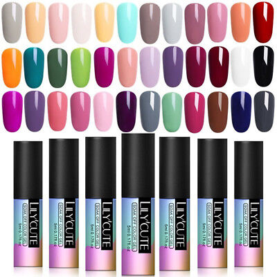 6-12Pcs/Set UV Gel Nail Polish Set Soak Off Mirror Glitter Gel Nails Manicure