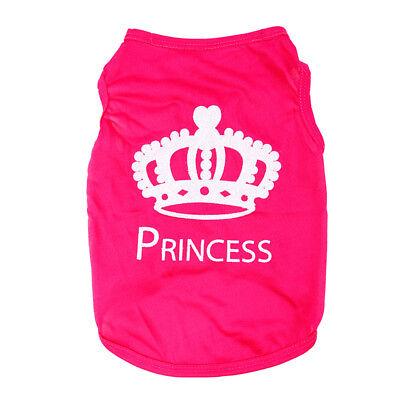 Small Pet Dog Cat Lace T shirt Puppy Princess Various Summer Clothes Apparel US