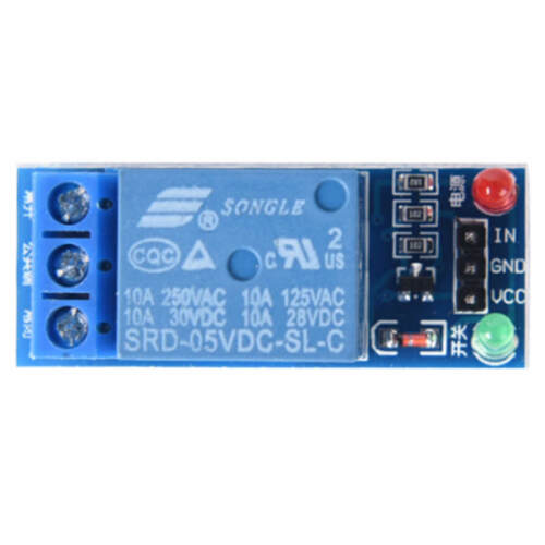 5V 1 Channel Relay Board Module Optocoupler LED For Arduino PIC ARM AVR #F1BC