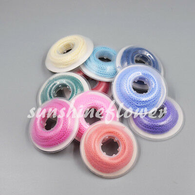 44 Colors Dental Orthodontic Short Long Close Type Elastic Ultra Power Chain 1x 8