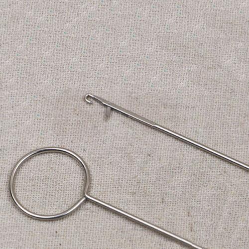 Metall Sewing Loop Turner Haken Latch Drehen Stoff Tubes StrapsGürtelStreifenZP