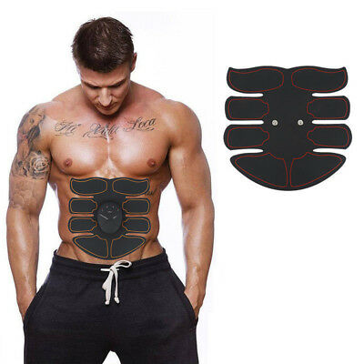 Ultimate Abs Slim Stimulator Abdominal Muscle Train Toning Belt Waist Trimmer UK