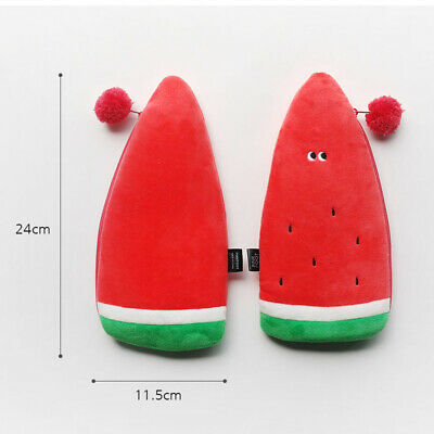 Funny Vegetables Soft Plush Type Pencil case Pen Bag Stationery Tavel Organizer 5
