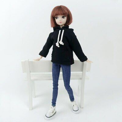 """Fashion Handmade Hoodie For 11.5"""" 1/6 Doll Sweatshirt Outfits Doll Clothes Shoes 6"""