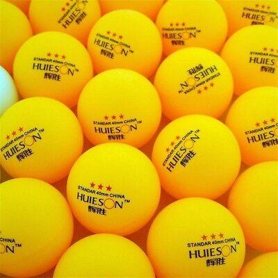 10/100pcs 3-Star Table Tennis Balls 40mm Ping pong Balls Training Ping Pong Ball 2