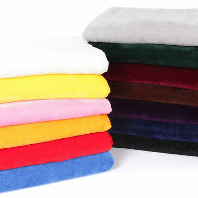 Velours Tissu Velours Nappe Rideau Upholstery Craft Material fond NEUF