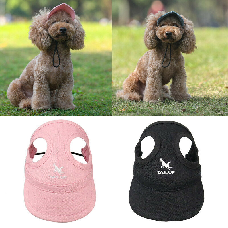 Pet Small Large Dogs Summer Outdoor Travel Baseball Sun Protection Hat Cap 2