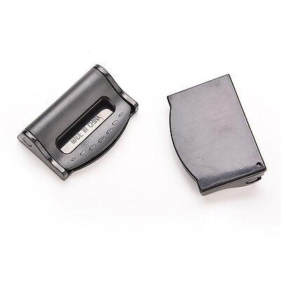 2Pcs Car Seat Belt Safety Adjuster Clips Clamp Stopper Buckle Improves ComfortPB 4