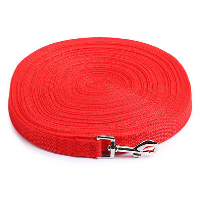 Dog Pet Puppy Training Leads 6FT,15FT,20FT,30FT,50FT,100FT Long UK 7