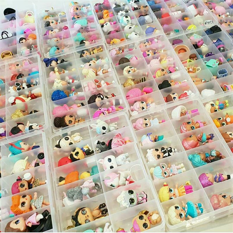 1000 styles LOL Surprise Dolls Glam Glitter Queen Bee UNICORN LIL Sister Pet toy 5