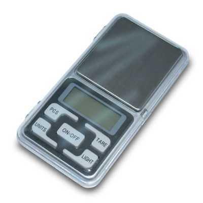 Balanza de Precision 0.1 gr 500 gr Bascula Digital Bolsillo Peso para Joyeria 3