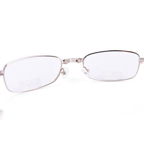 Gafas de lectura metal Snap plegable con case +1.0 +1.5 +2.0 +2.5 +3.0 +3.5EE 11