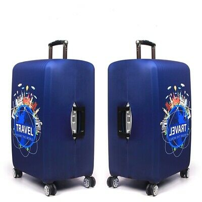 "18-32"" Elastic Travel Protective Luggage Cover Suitcase Dustproof Protector Case 9"