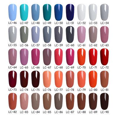 51 Couleur Multiple UV Gel Nail Art Semi Permanent Vernis à ongles LILYCUTE 5ML 7