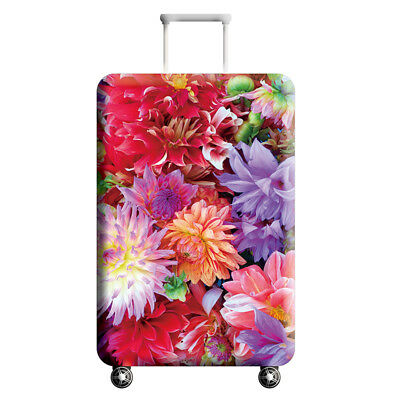 Printed Flamingo Suitcase Protective Cover Dust proof Travel Luggage Cover 18-32 4