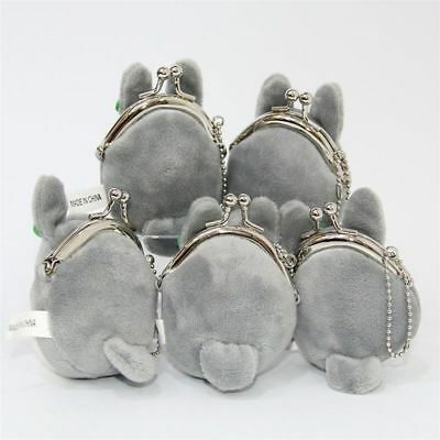 Studio Ghibli My Neighbor Totoro Left Plush Doll Toy Mini Holder Coin Bag Gift 7