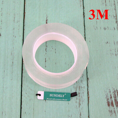 Magic Multifunctional Double-Sided Adhesive Tape Traceless Washable Removable AU 5