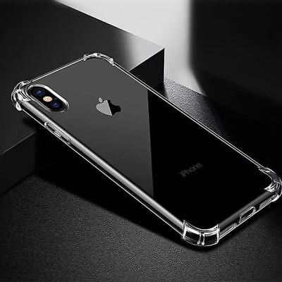 Antichoc Bumper Silicone Coque Pour iPhone XS Max 2018 XR X 8 Plus 7 Plus 6 s 7