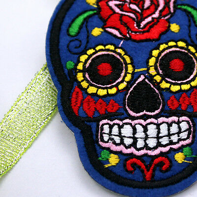 New Embroidered Applique Iron On Patch design DIY Sew Iron On Patch Badge 3