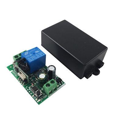1 x Telecomando senza Fili Interruttore AC85V-AC220V 1 Ch Relè Ricevitore 433Mhz 4