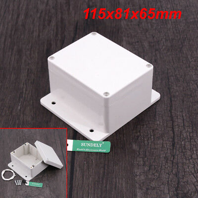 Waterproof Plastic Cover Project Electronic Case Instrument Enclosure Box Home 11
