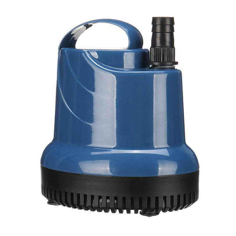 220V Ultra-silencieux Pompe à Eau Submersible 1000/3000L Pompe Aquarium Fontaine 12