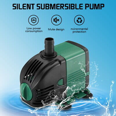 Water Pump Feature Fountain Outdoor Garden Fish Pond Completely Submersible UK 2