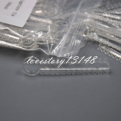 Dental Orthodontics Ligature Ties Elastic Elastomeric Bands Clear Color 1040 Pcs 4