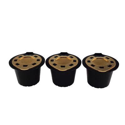 2 Acciaio Inox Riutilizzabile Capsule Caffè W/ Cucchiaio per Nespresso Gusto 7